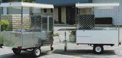 Specialty Hot-Dog Trailers - You may design your own!