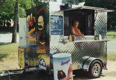 Specialty Hot-Dog Trailer - You may design your own!